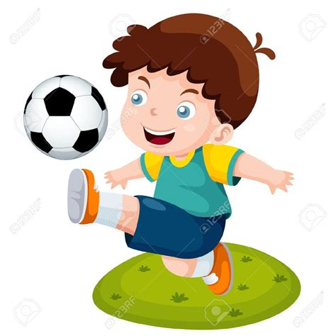 dibujos de niños jugando futball dibujos de ni 241 os jugando futbol a color buscar con