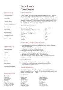 delivery driver cv sle able to work in any weather
