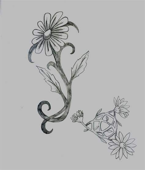 daisy flower tattoo tattoos designs ideas and meaning tattoos for you