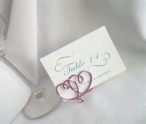 wedding table card holders wedding place card holders table settings by
