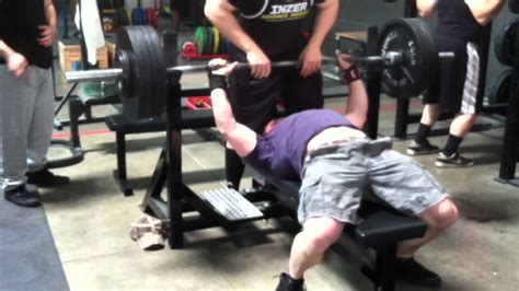 205 bench press 435 x 1 bench press 205 raw youtube