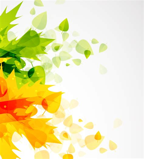 background design leaves beautiful autumn leaf background 01 vector free vector