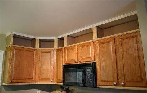 Update Kitchen Cabinets With Molding Update The Kitchen Cabinets With Moldings And Create The Look Of Open Cabinets On The Space