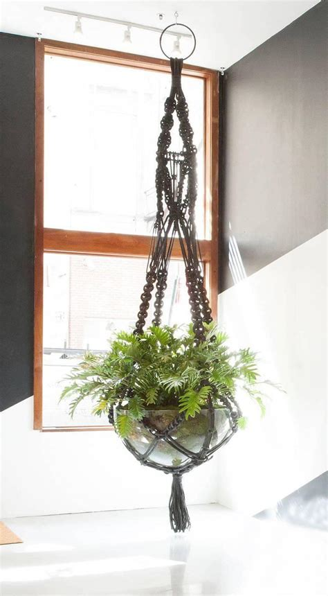 Macrame For Sale - custom macrame plant hanger for sale at 1stdibs