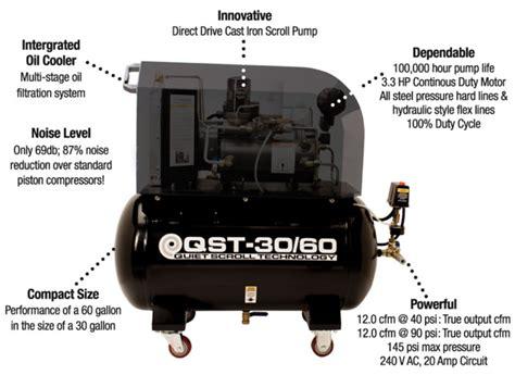 eastwood qst 30 60 scroll air compressor item 31700 scroll compressor ebay
