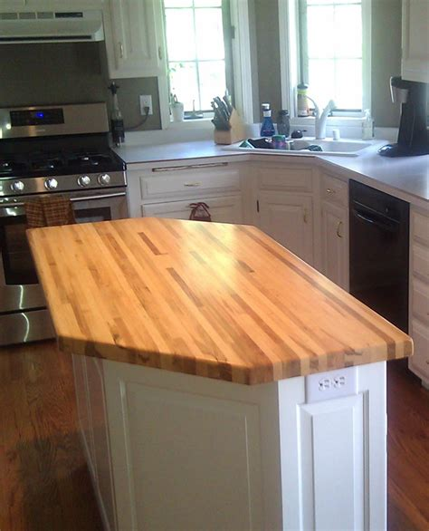 kitchen block island beautiful kitchen with butcher block island wild oak