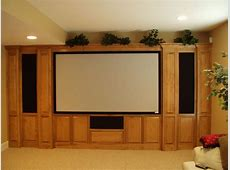 Custom Home Theater Cabinets - Decor IdeasDecor Ideas 1 Bedroom Apartment Interior Design