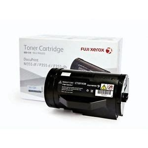 Toner Fujixerox Docuprint M355df High Capacity Original Original Ct201938 High Capacity Fuji Xerox Toner Singapore