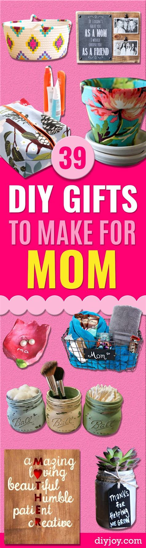 39 creative diy gifts to make for mom creative photos