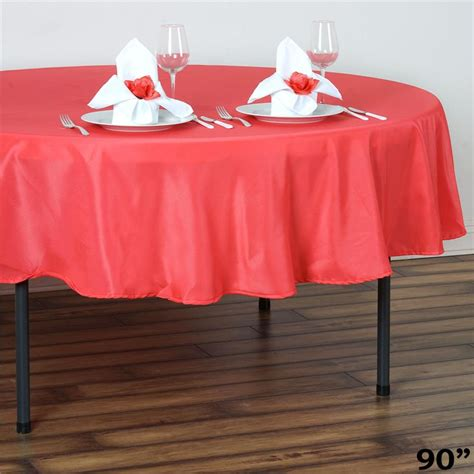 Table Linens Wholesale by 6 Pcs 90 Quot Polyester Tablecloth Wedding Table