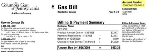 jersey central power and light customer service number how to read your bill