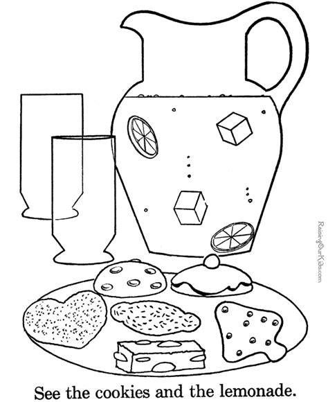 Kooky Cookie Coloring Page Printable Coloring Pages Cookie Coloring Pages Printable