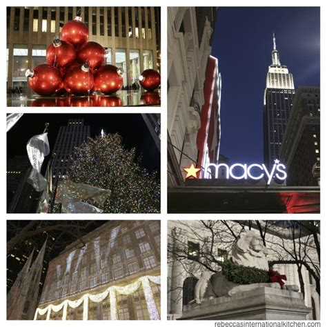 my favorite christmas window decorations in new york rebecca s international kitchen best things to do in new