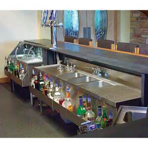 Commercial Bar Accessories Underbar Sink