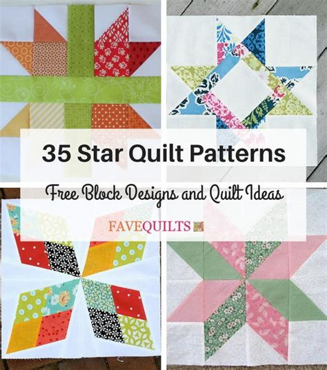 33 Star Quilt Patterns: Free Block Designs and Quilt Ideas