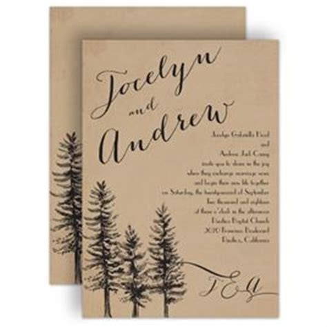 Wedding Invitations Tree Theme by Rustic Wedding Invitations Invitations By