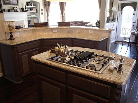 New Venetian Gold Countertops by 1000 Images About Kitchen On Islands