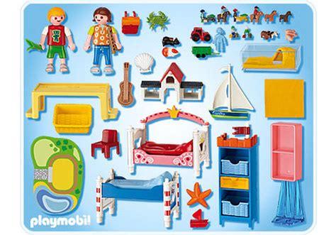 playmobil chambre enfant chambre des enfants avec lits d 233 cor 233 s 5333 a playmobil