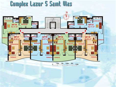 Apartment Complex Floor Plans by Availability And Prices Apartment Complex Lazur 5