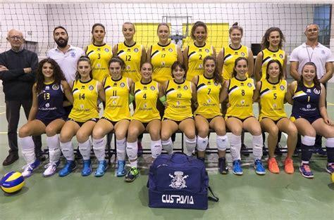 pavia pallavolo e serie c per la squadra femminile di pallavolo cus pavia