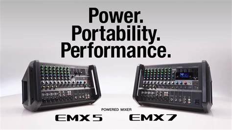 Power Mixer Yamaha Emx5014 yamaha powered mixer emx7 emx5