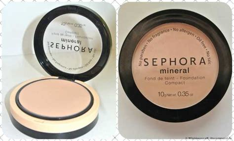 Sephora Mineral Foundation Compact sephora mineral powder foundation compact