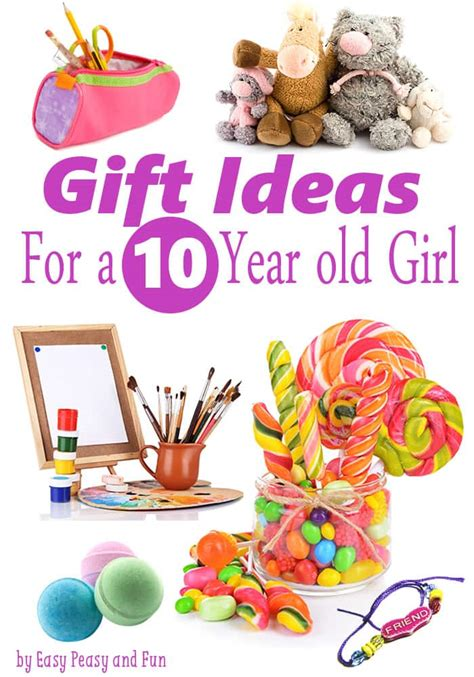 gifts for 10 year old girls easy peasy and fun