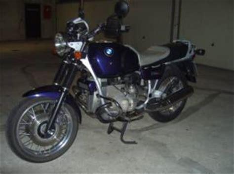 Motorrad überwintern Auf Seitenständer by Bmw R100r Gebraucht