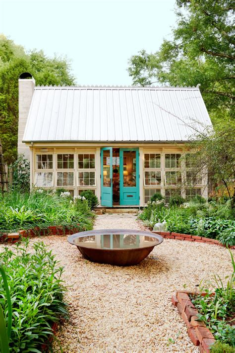 backyard art studio plans this charming backyard art studio is possibly the most
