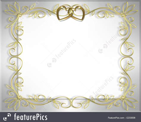 Wedding Border Gold by Gold Wedding Invitation Templates Wedding Invitation