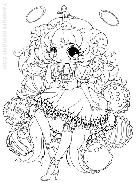 macaroon hikaru commission lineart by yuff on cupcake girl lineart интерет аптека купить виагру