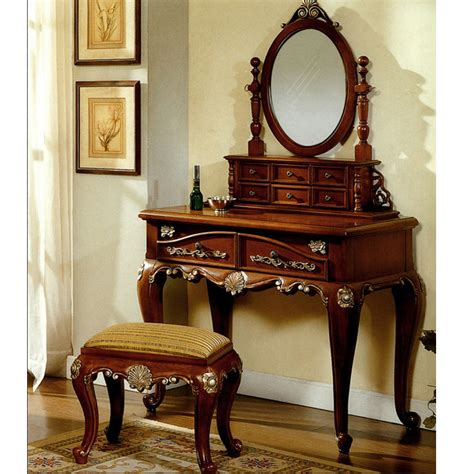 vanity set for bedroom queen anne bedroom vanity set furnindo