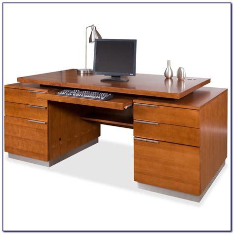 Pedestal Ceo Double Pedestal Executive Desk Desk Home Design Ideas