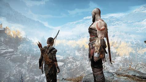 god  war  kratos  atreus  hd games  wallpapers