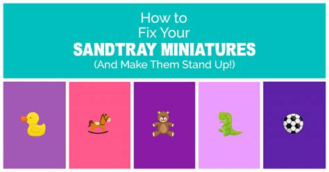 how to make your a therapy how to make your miniatures stand up sandtray therapy southern sandtray