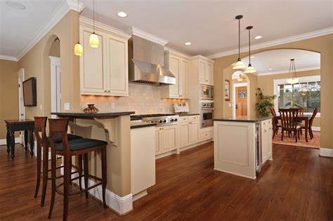 laminate floors kitchen modern house