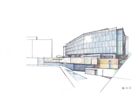 architectural drawing drawpro for architectural drawing gallery of bundang seoul national university hospital
