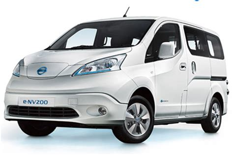 nissan launches second electric vehicle e nv200