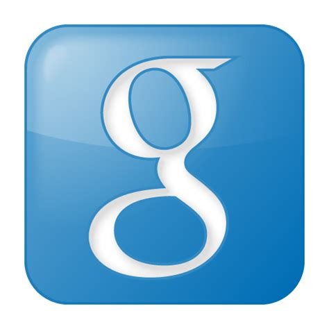 google images icon social google box blue icon social bookmark iconset