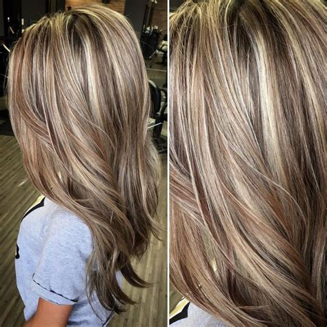 dimension with two low lights as 1155 melhores imagens em balayage hairstyles no