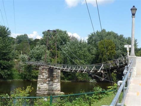 swinging bridge va buchanan swinging bridge picture of buchanan swinging