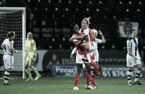 arsenal honours notts county ladies 1 1 arsenal ladies honours even at