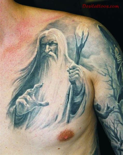 merlin the wizard tattoo designs pictures to pin on