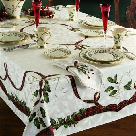 Ideas For Lenox Tablecloths Design Nouveau Table Linens By Lenox Season Pinterest Linens Table Linens And