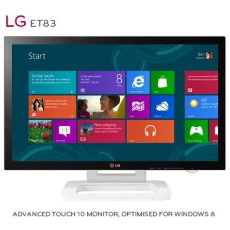 Monitor Lg Touchscreen lg touch 10 et83 windows 8 touchscreen monitor revealed