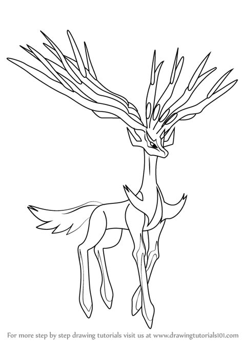 pages xerneas coloring pages xerneas coloring pages