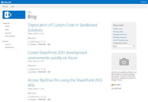 sharepoint enterprise blog post read more sharepoint