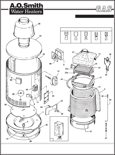 ao smith electric water heater wiring diagram 45 wiring