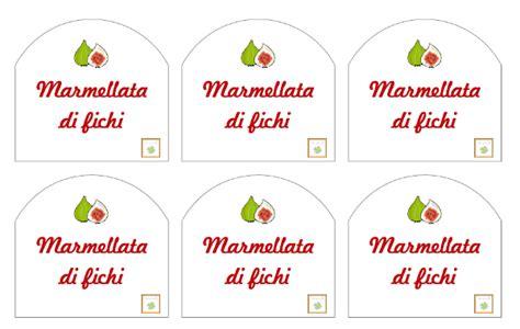 etichette per la marmellata di fichi