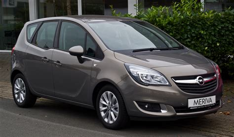 Opel Meriva by File Opel Meriva 1 4 Style B Facelift Frontansicht